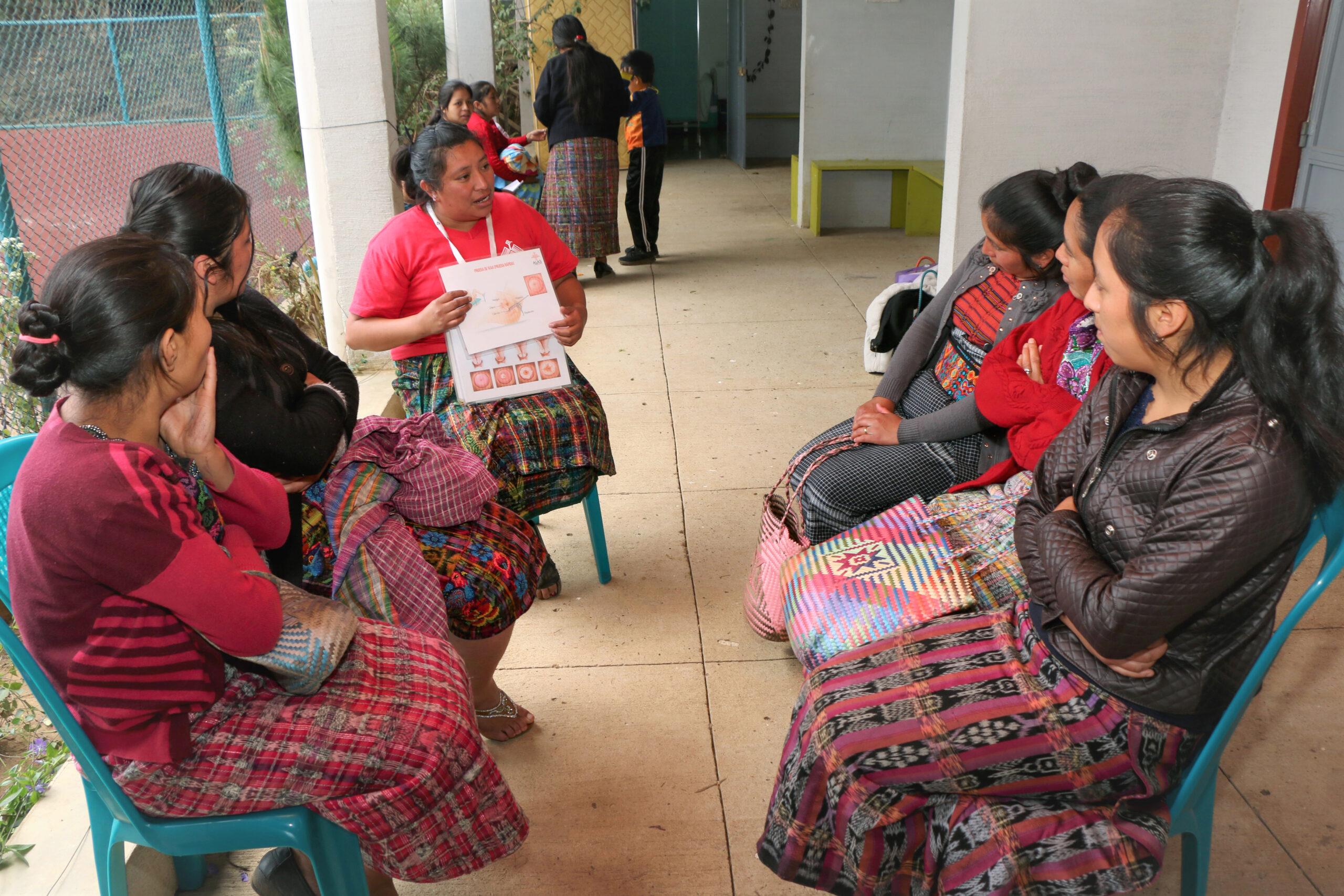 Guatemala Aufklärung für Frauen